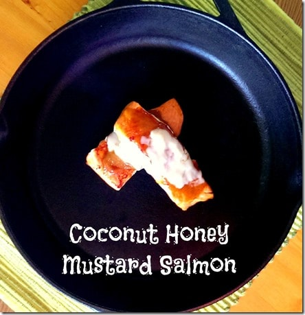 Coconut Honey Mustard Salmon