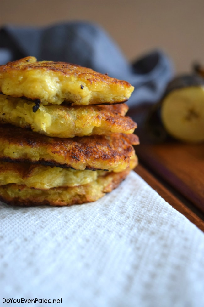 Crazy Easy Pan-Fried Plantain Patties