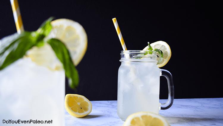 Honey-Sweetened Basil Lemonade   DoYouEvenPaleo.net