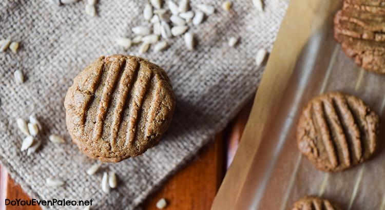 """Ingredient Paleo """"Peanut Butter"""" Cookies   DoYouEvenPaleo.net"""