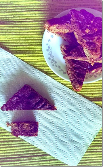 Paleo Banana Bread Brownies