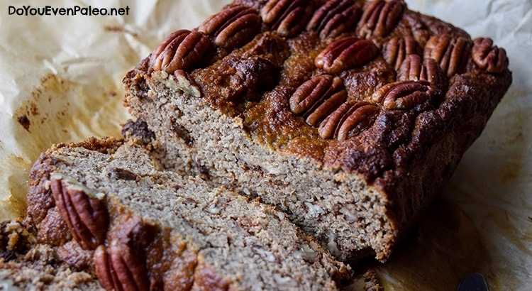 Paleo Banana Bread (nut free) | DoYouEvenPaleo.net