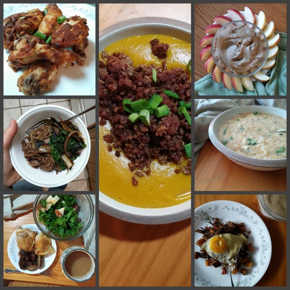 Whole30 Week 3 Meal Snapshot