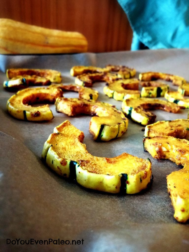 Curried Delicata Squash
