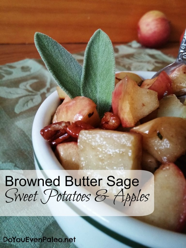 Browned Butter Sage Sweet Potatoes & Apples