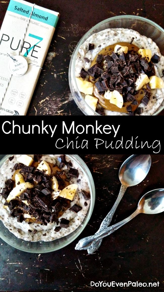 Chunky Monkey Chia Pudding