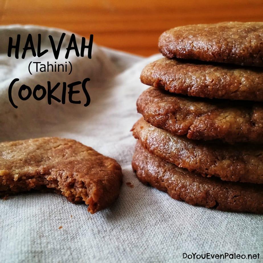 Halvah (Tahini) Cookies