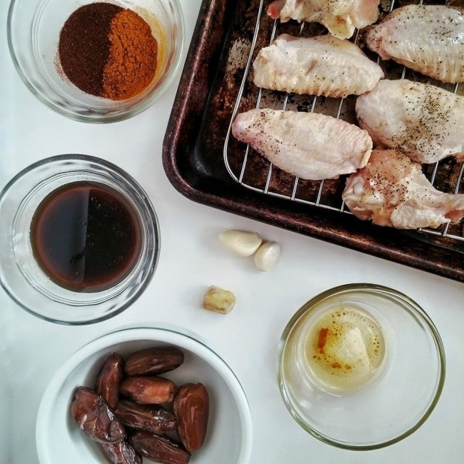 Thai Curry Chicken Wings Mise En Place | DoYouEvenPaleo.net