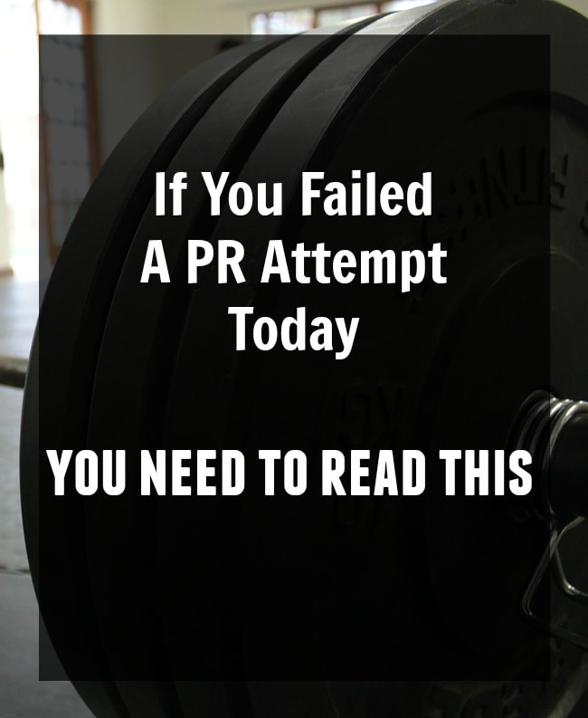 If You Failed A PR Attempt Today, You Need To Read This