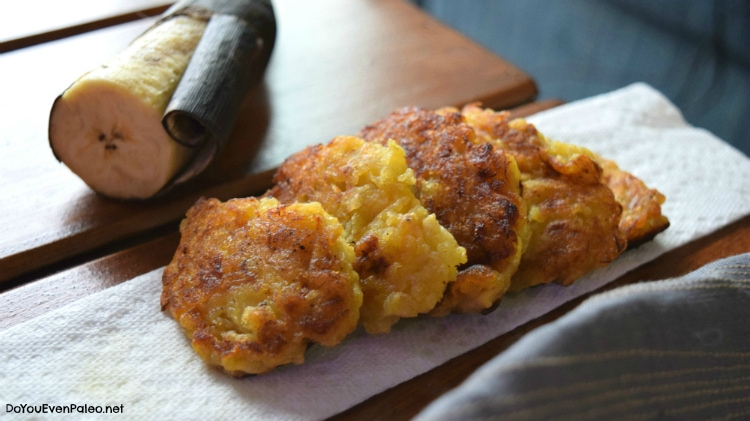 Paleo Plantain Patties | DoYouEvenPaleo.net