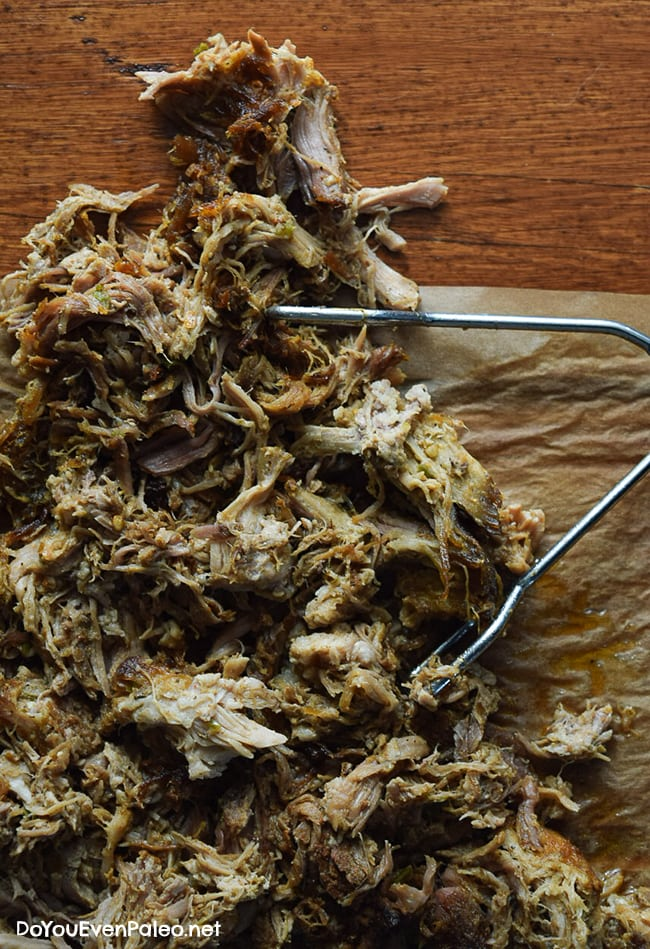 Whole30 Crockpot Paleo Pulled Pork | DoYouEvenPaleo.net