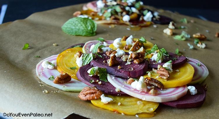 Summer Beet Salad | DoYouEvenPaleo.net