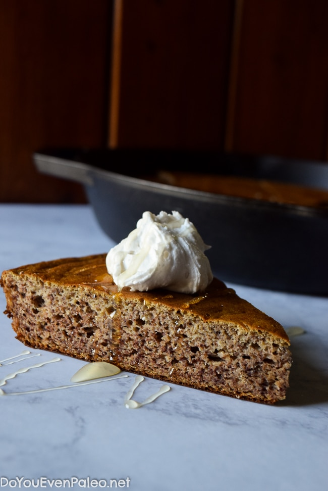 3-Ingredient Sweet Plantain Cake | DoYouEvenPaleo.net
