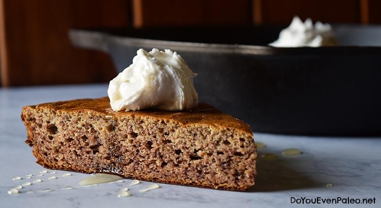 3-Ingredient Sweet Plantain Cake