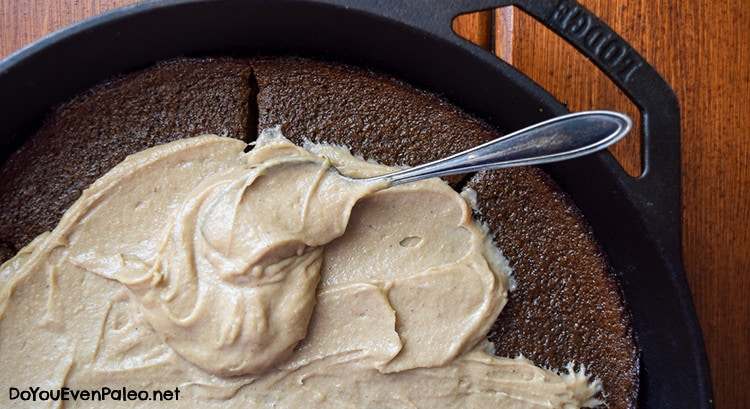 Gingerbread Plantain Cake with Maple Cashew Frosting