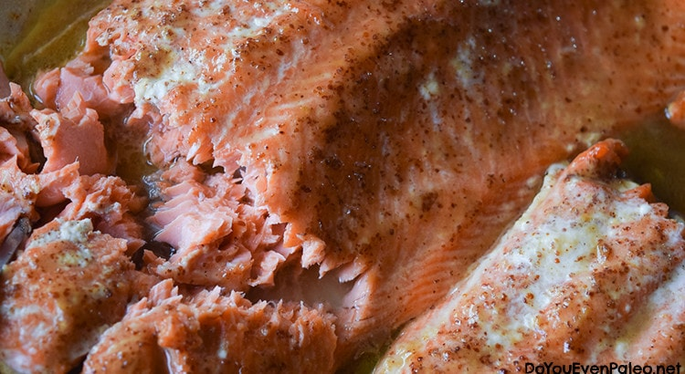 Maple Mustard Salmon | DoYouEvenPaleo.net