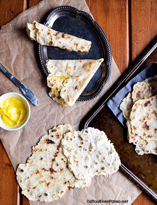 Gluten Free Lefse (also paleo, dairy free, nut free!) | DoYouEvenPaleo.net