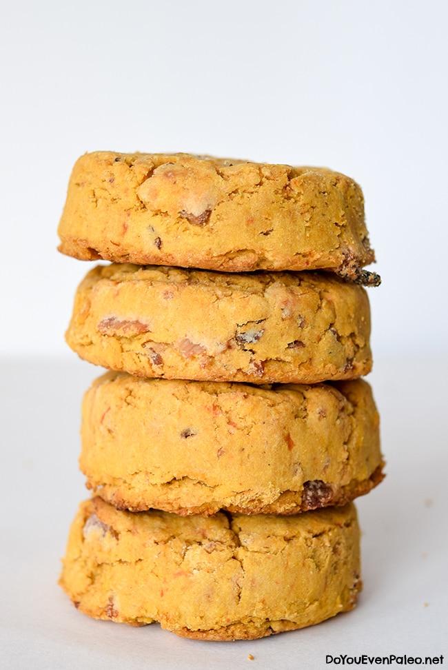 Maple Bacon Sweet Potato Biscuits | DoYouEvenPaleo.net