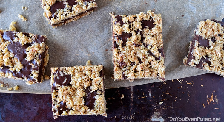 Coconut Fudge Bars | DoYouEvenPaleo.net
