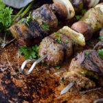 Green Balsamic Beef Kabobs | DoYouEvenPaleo.net