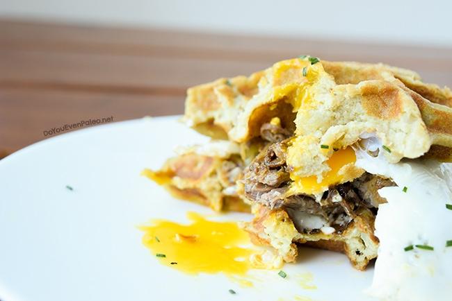 Mashed Potato Waffles   DoYouEvenPaleo.net