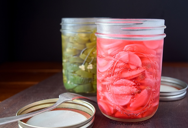 How to Make Garlicky Quick-Pickled Radishes   DoYouEvenPaleo.net