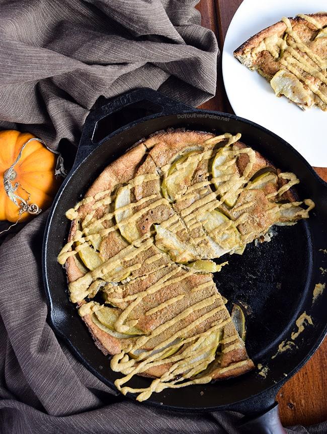 Pumpkin Spice & Apple Dutch Baby | DoYouEvenPaleo.net