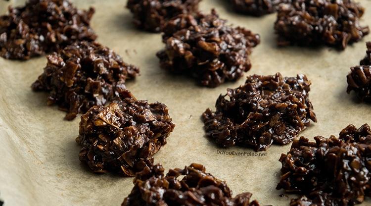 Paleo No Bake Cookies | DoYouEvenPaleo.net