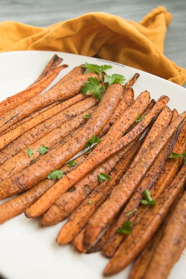 Cinnamon Cumin Roasted Carrots | DoYouEvenPaleo.net
