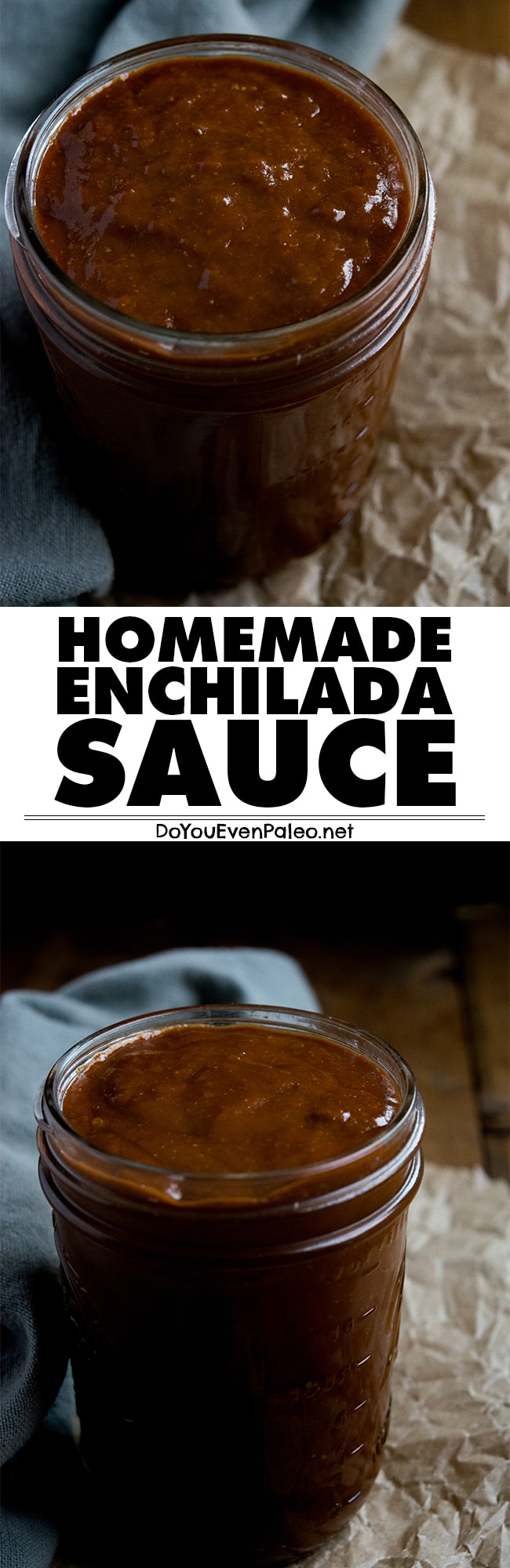 Make your own homemade red enchilada sauce! It only takes about 10 minutes, and you probably have the ingredients in your pantry already. | DoYouEvenPaleo.net