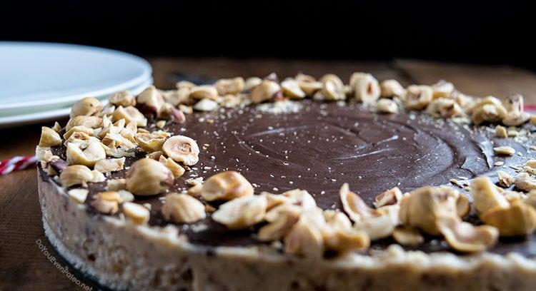 Chocolate Hazelnut Tart | DoYouEvenPaleo.net