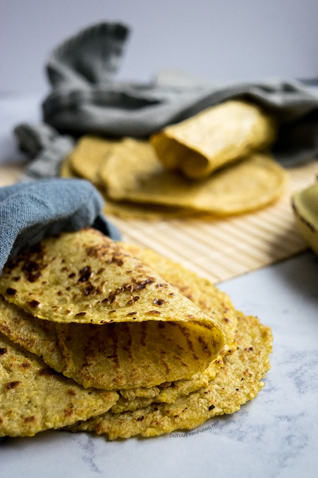 Plantain Tortillas | DoYouEvenPaleo.net