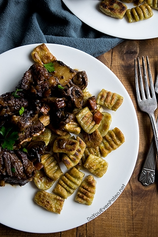 Paleo Plantain Gnocchi with Savory Short Ribs | DoYouEvenPaleo.net