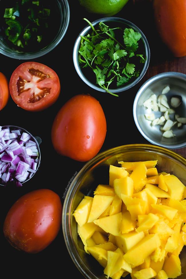 Tostones with Blender Mango Salsa | DoYouEvenPaleo.net