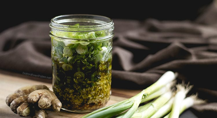 Ginger Scallion Sauce | DoYouEvenPaleo.net