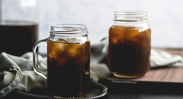 How to Make Cold Brew Coffee at Home | DoYouEvenPaleo.net