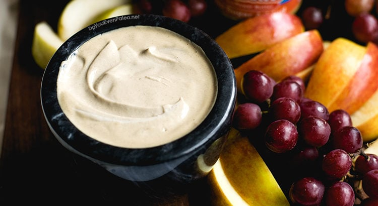 Simple Sunbutter Fruit Dip | DoYouEvenPaleo.net
