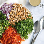 Thai Cabbage Salad with Sunbutter Dressing | DoYouEvenPaleo.net