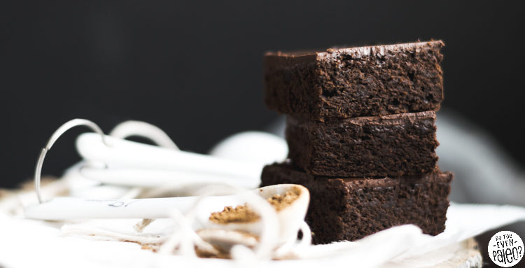 Frosted Gluten Free Gingerbread Brownies | DoYouEvenPaleo.net