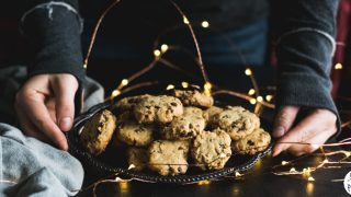 Gluten Free Maple Pecan Chocolate Chip Cookies