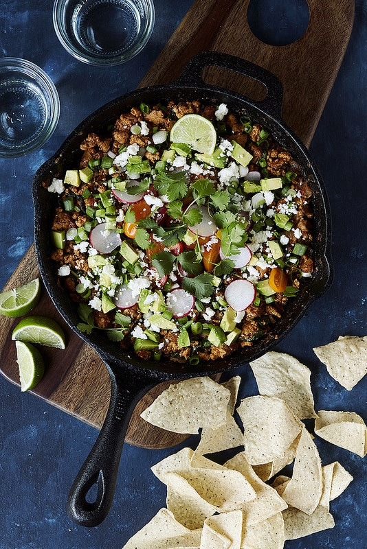 Whole30 15 Minute Paleo Taco Skillet Dinner by Tasty Yummies
