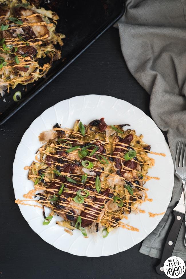 Paleo Gluten Free Okonomiyaki | DoYouEvenPaleo.net