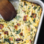 Paleo Chicken Bacon Ranch Spaghetti Squash Casserole Recipe | DoYouEvenPaleo.net