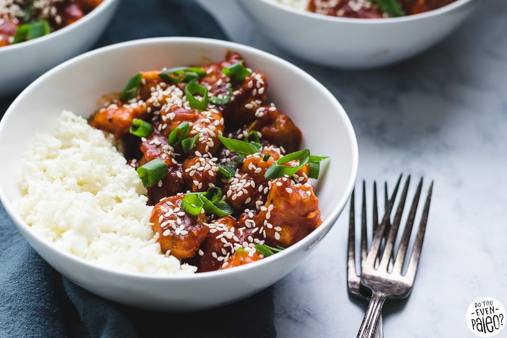 Paleo Honey Sesame Chicken | DoYouEvenPaleo.net