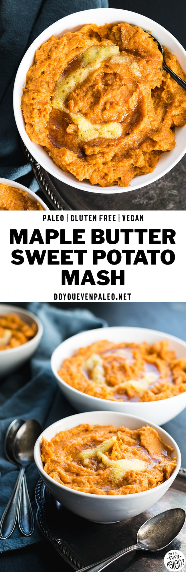 Paleo Maple Butter Sweet Potato Mash Recipe | DoYouEvenPaleo.net