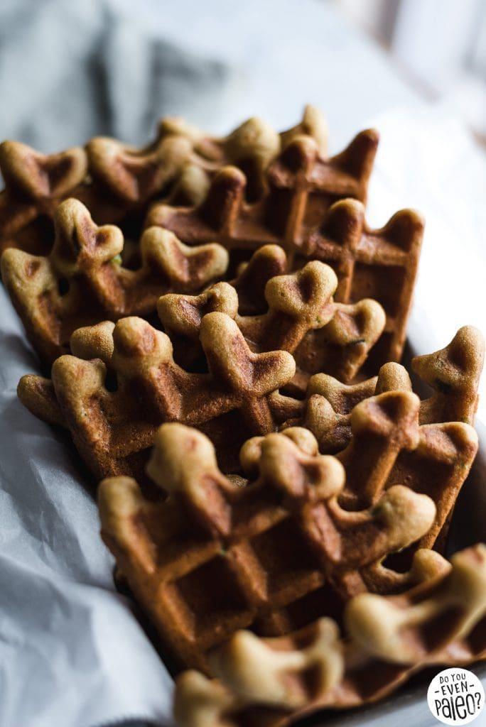 Savory Paleo Cornbread Waffles Recipe   DoYouEvenPaleo.net