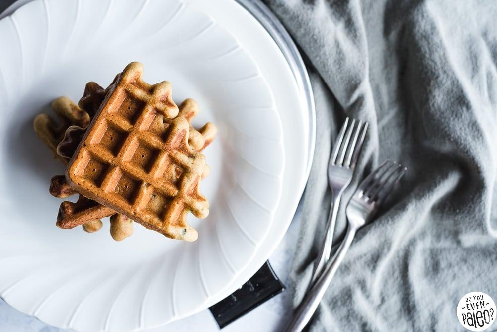 Savory Paleo Cornbread Waffles Recipe | DoYouEvenPaleo.net
