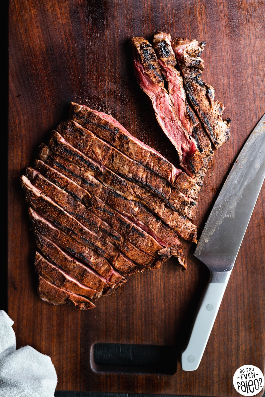 Cardamom Coffee Grilled Steak | DoYouEvenPaleo.net