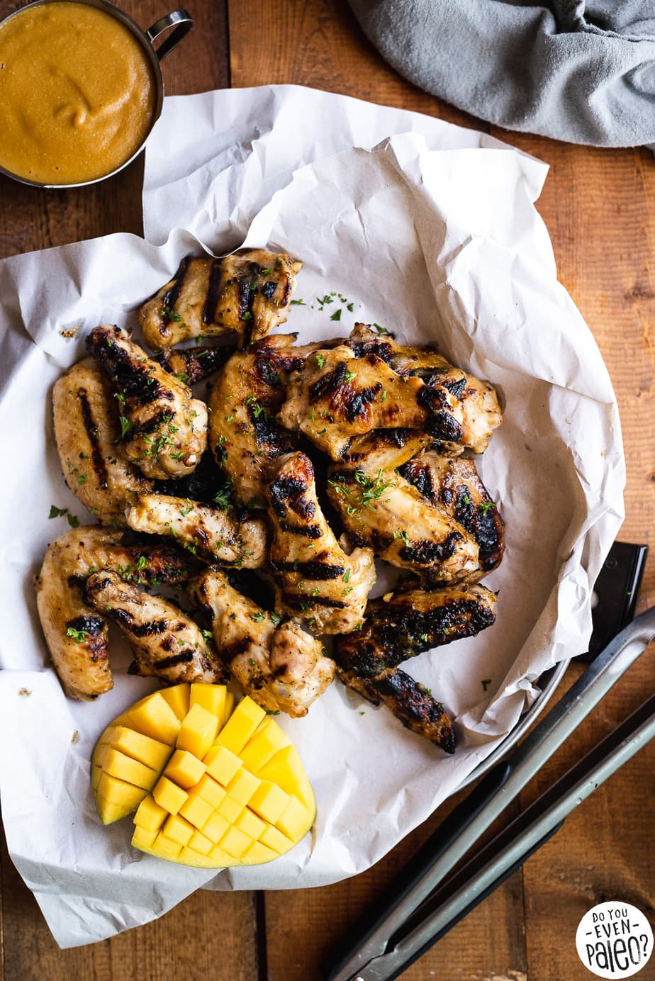 Whole30 Mango Habanero Wings Recipe