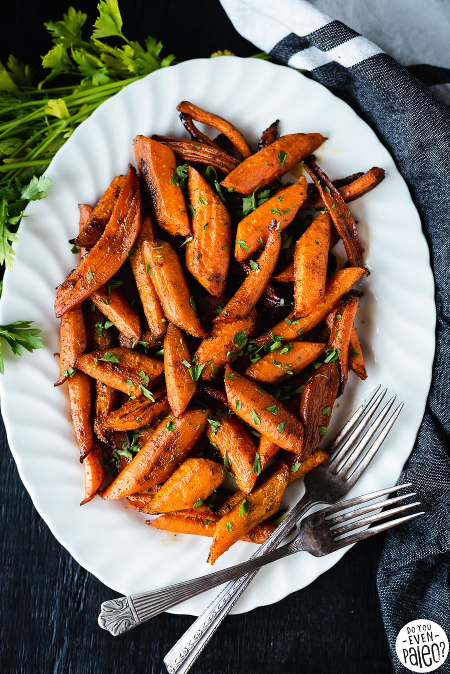 Gluten Free Chipotle Honey Roasted Carrots Recipe